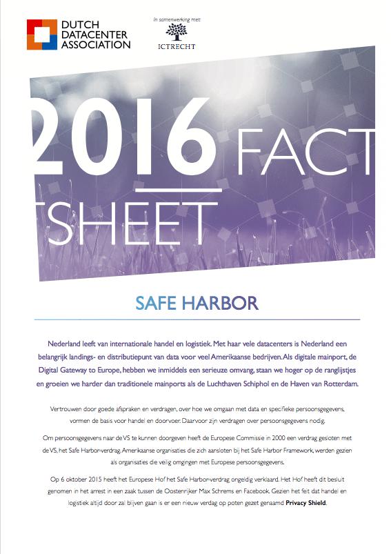 Factsheet Safe Harbor