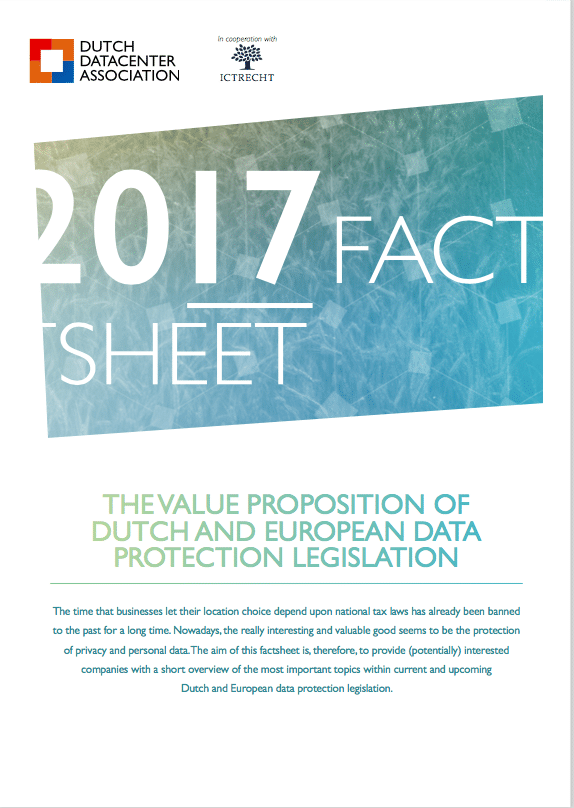 Value Proposition of Dutch and European data protection legislation