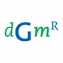 DGMR logo display
