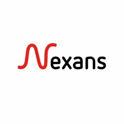 Nexans logo display