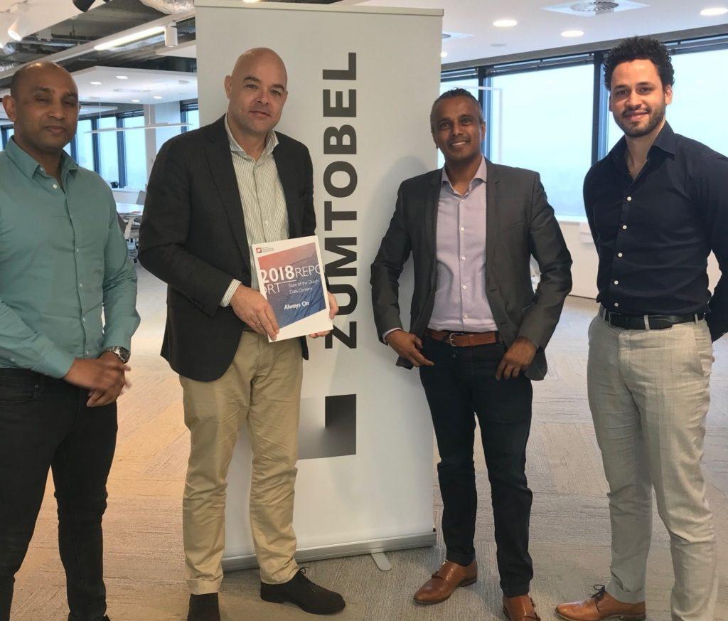 Zumtobel versterkt netwerk van brancheorganisatie Dutch Data Center Association