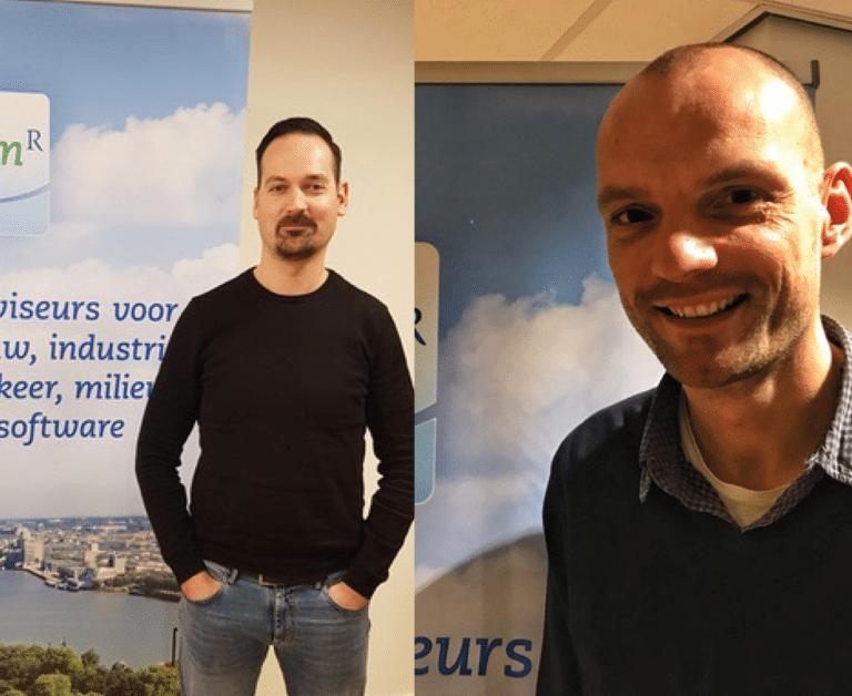 """Auke van Dam & Arno Bongers: """"De toepassing van ons werk in een datacenter is een mooie verbreding van je werkervaring. De dynamiek en omvang van een datacenter maakt het werk erg leuk!"""""""