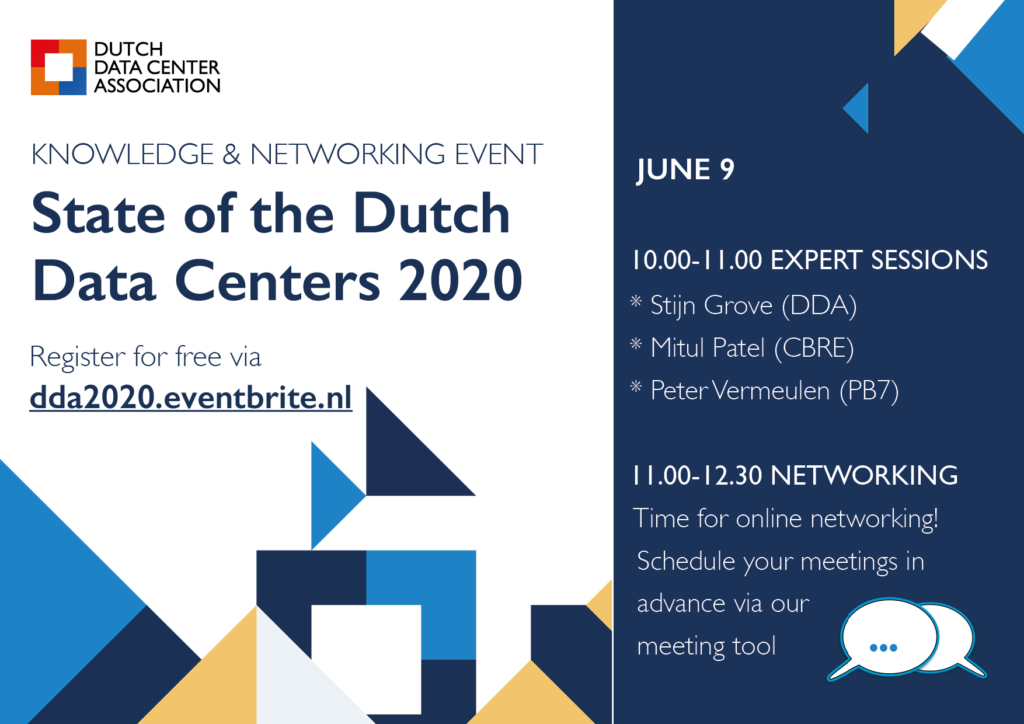 Knowledge & Networking Event State of the Dutch Data Centers 2020