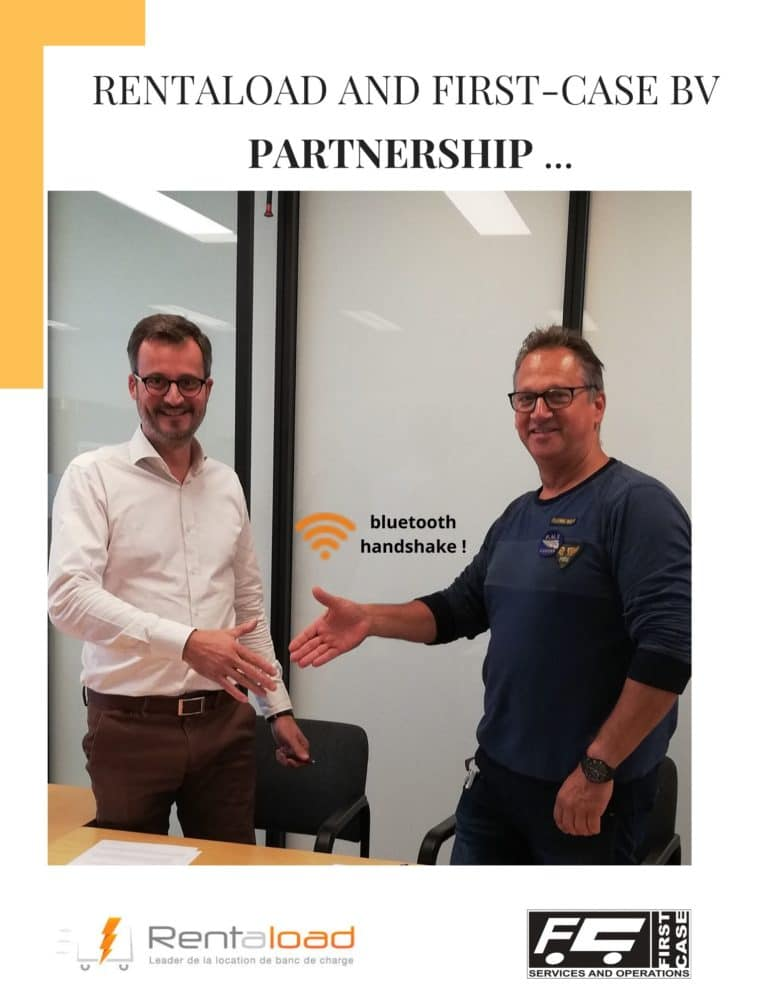 Rentaload announces partnership with First-Case BV