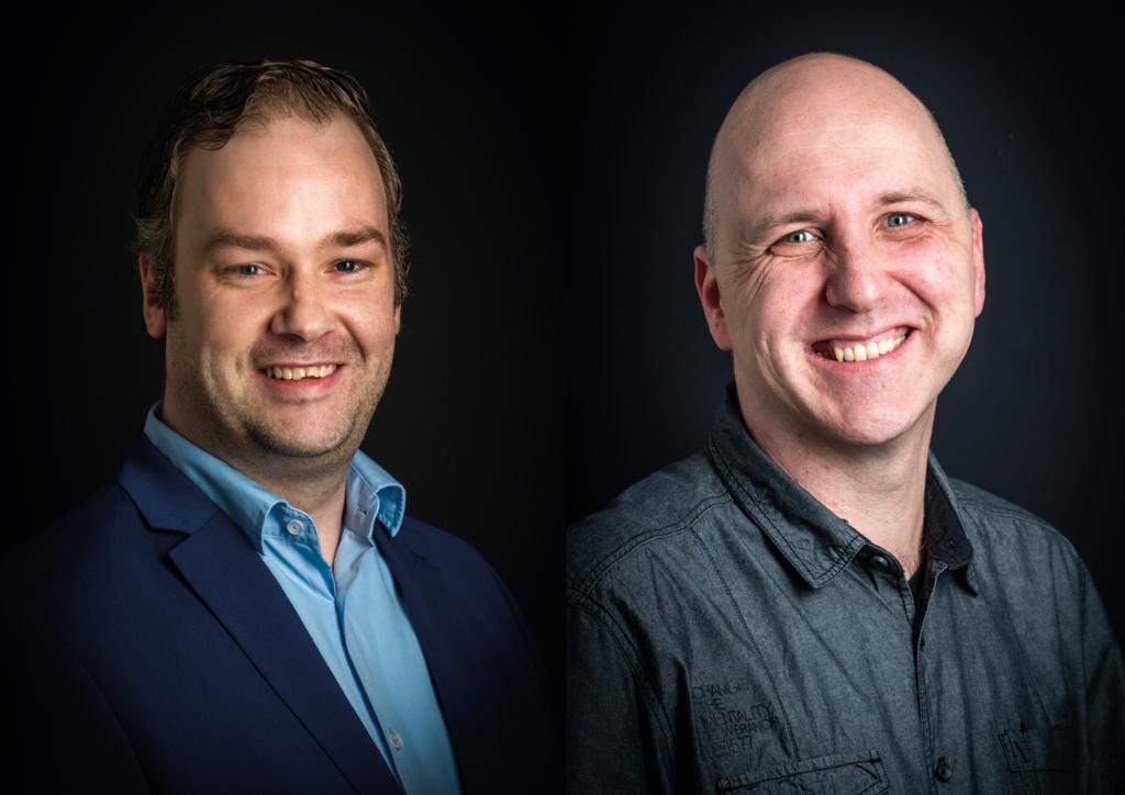 """Marcel Ooms & Rene Reijers: """"In onze functie ben je het ene moment bezig met elektra en koeling, het andere met netwerk-of serverbeheer."""""""