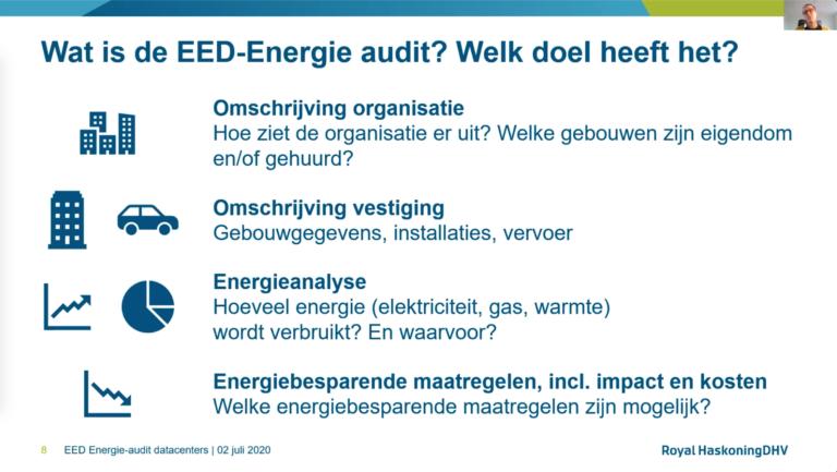 Bekijk de webinar over de verplichte Energie Audit (EED)