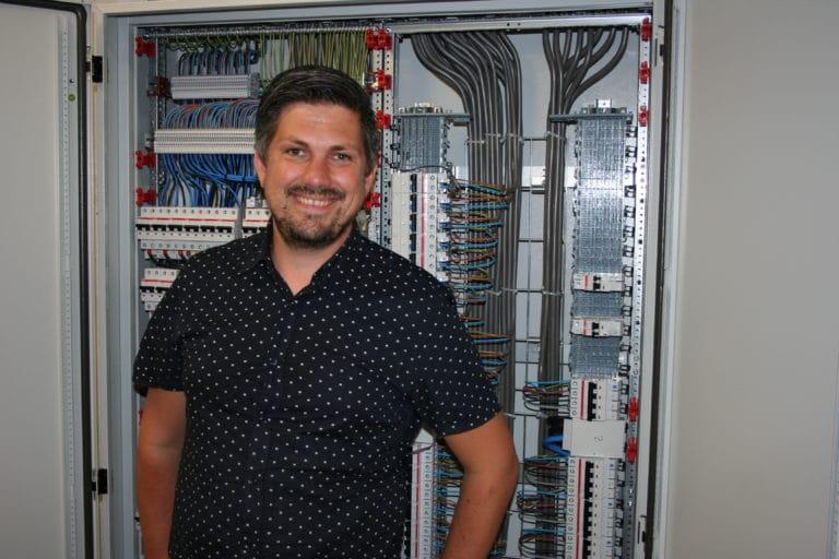 """Richard ter Meer: """"De combinatie van mechanisch werk, hardware en software maakt dit werk uniek!"""""""