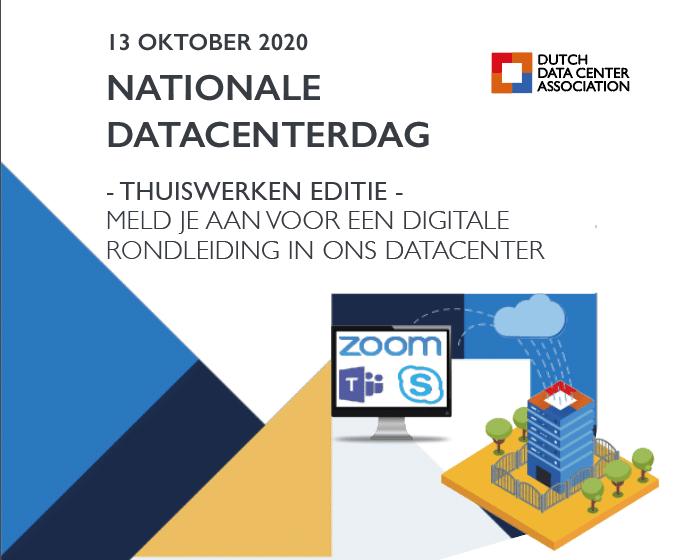 Vandaag de 'thuiswerkeditie' van Nationale Datacenter Dag 2020