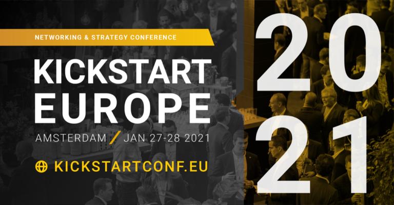 Kaartverkoop KickStart Europe 2021 van start!