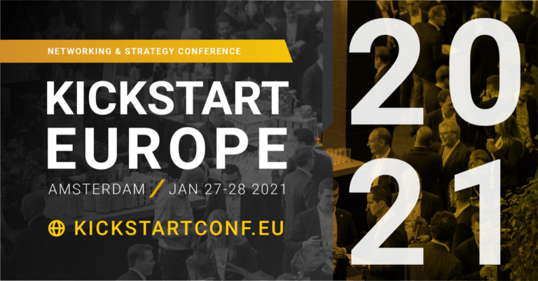 Registration KickStart Europe 2021 is live!