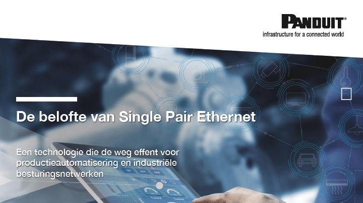Whitepaper door Panduit: De belofte van Single Pair Ethernet