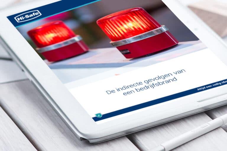 Whitepaper 'De indirecte gevolgen van een bedrijfsbrand' van Hi-Safe