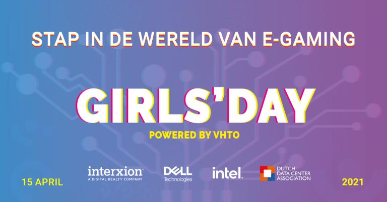 Meiden stappen tijdens Girls'Day in de wereld van E-Gaming