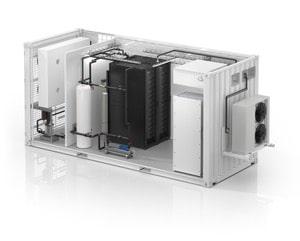 Schneider Electric lanceert het eerste alles-in-één vloeistofgekoelde modulaire datacenter