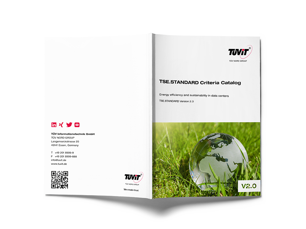 TÜViT publishes new TSE.STANDARD for energy efficiency & sustainability in data centers