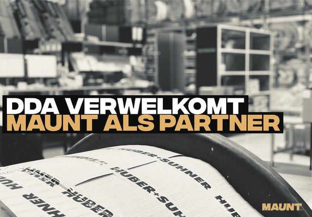 DDA verwelkomt Maunt als partner
